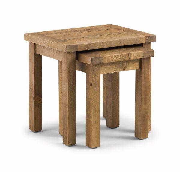 Julian Bowen Aspen Pine 2PC Nest of Tables