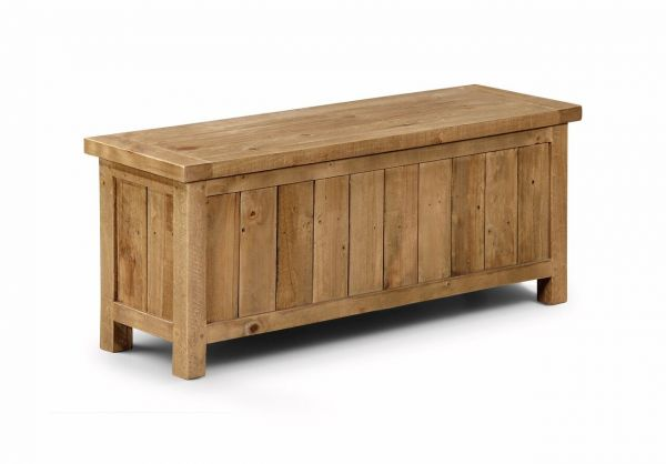 Julian Bowen Aspen Pine Storage Bench