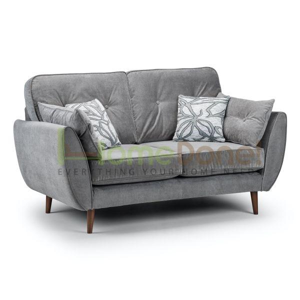 Zin Fabric 2 Seater Sofa - Grey