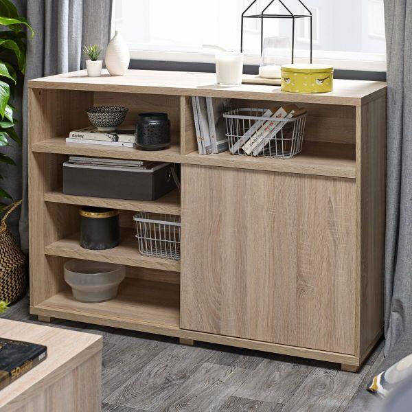LPD Oslo Storage Sideboard - Washed Oak