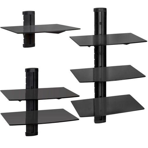 Universal Wall Mount Shelves - Shelves Options