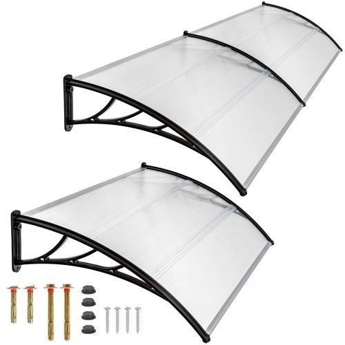 Front Door Rain Protector Canopy - 4 Sizes