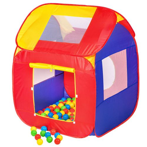 Childrens Pop Up Ball Pit tent with 200 Balls