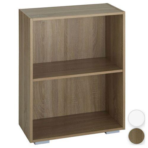 Freestanding 2 Shelves Bookcase  - 2 Colours