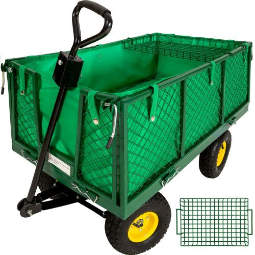 Garden Mesh Cart Trolley - Load Capacity 550 kg