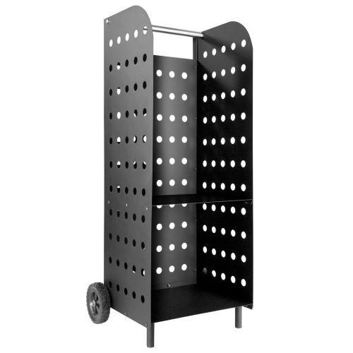 Log Holder Cart Extra Wide - Black