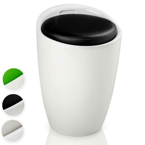 ABS Plastic Stool Storage Seat - 3 Colours