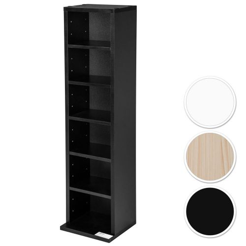 DVD Storage Tower Rack For 102 DVDs - 3 Colours