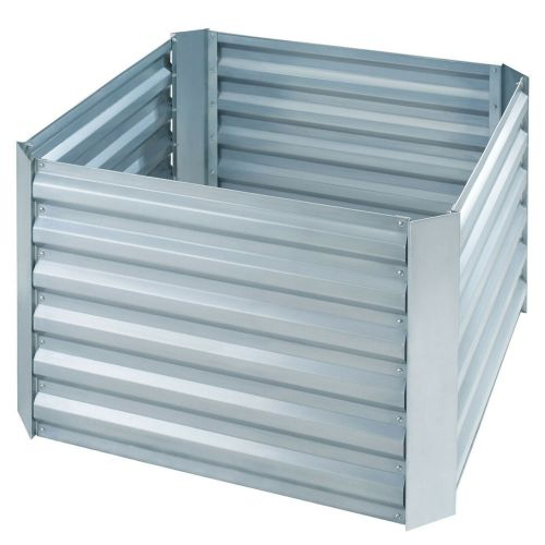Raised Bed Vegetable Planter Zinc Plated - Square
