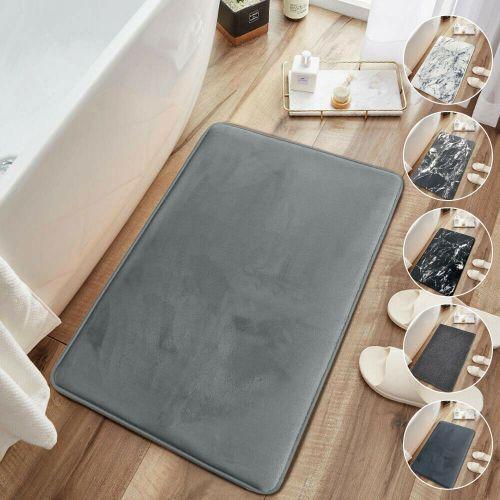 Non Slip Memory Foam Bath Mats 8 Design - 50 x 80 cm