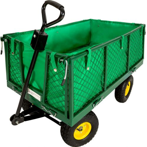 Garden Trolley With Inner Lining - 550kg