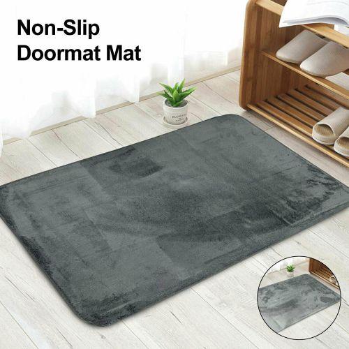 Non Slip Washable Heavy Duty Doormats 8 Colours- 50x80cm