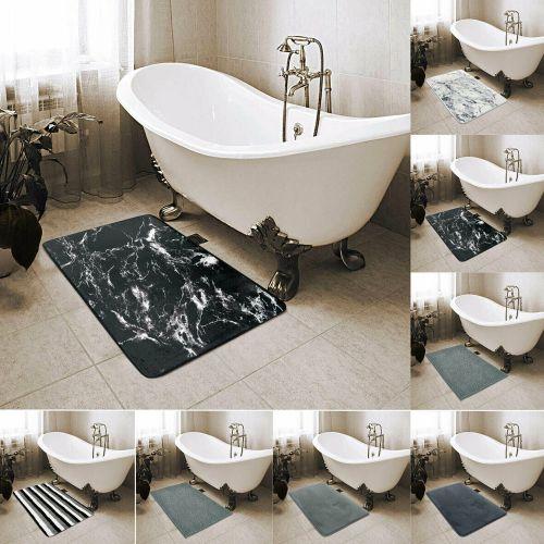 Bath Mat Anti Slip Water Absorbent Bathtub Mat - 8 Colours