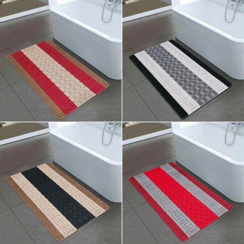Non Slip Washable Bath Mat 6 Colours- 60 x 110cm