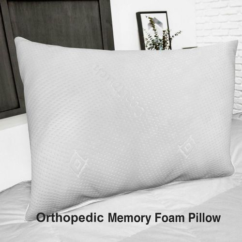 Head Firm Support Core Orthopedic Memory Foam Pillow