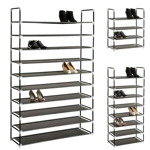 Shoe Rack Stand 10 Tier - 3 Sizes