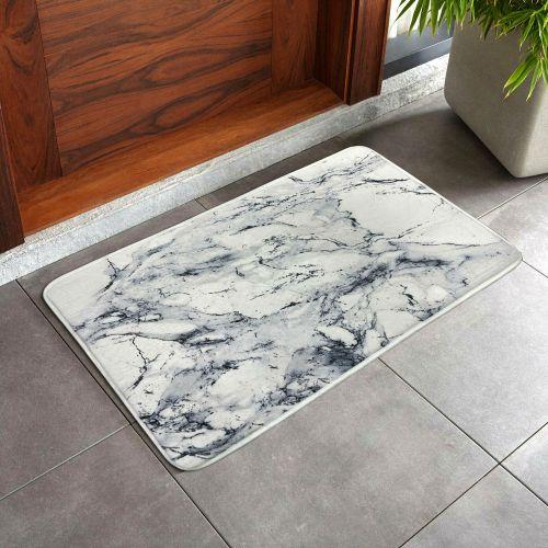 Heavy Duty Non-Slip Doormats White - 50 x 80 cm