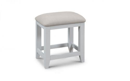 Julian Bowen Richmond Dressing Table Stool - Grey