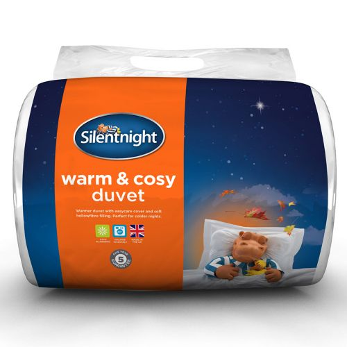 Silentnight Winter Warm and Cosy Duvet 13.5 Tog - 4 Sizes