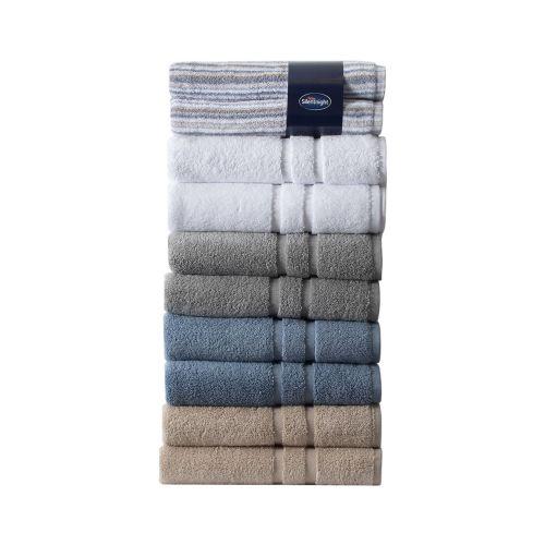 Silentnight Luxury Cotton Bath Towel Set - 6 Colours