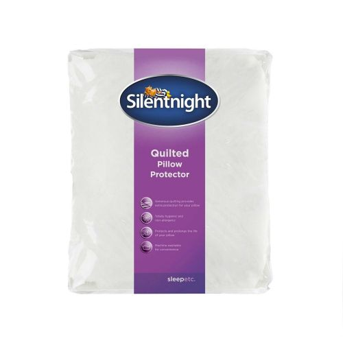 Silentnight Shine Soft Quilted Pillow Protector - 2 x Pack