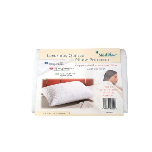 Pillow Protector Mediflow Quilted - Hygenic