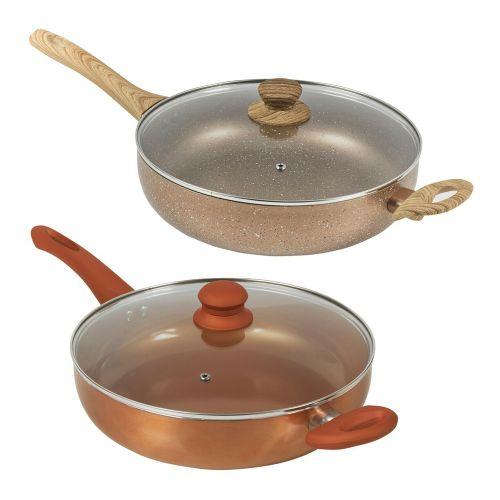 Deep Saute Non Stick Fry Pan 28cm - 2 Colours
