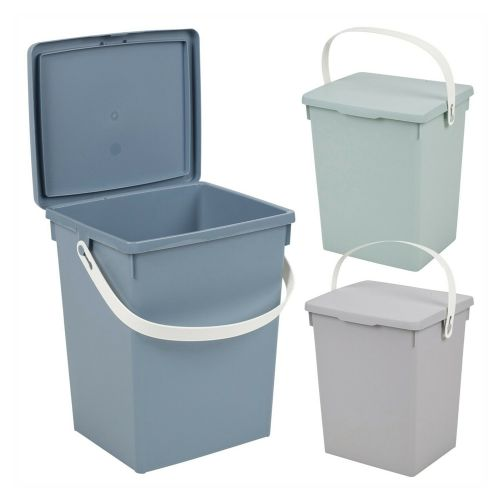 5 Litre Small Table Top Waste Bin - 3 Colours