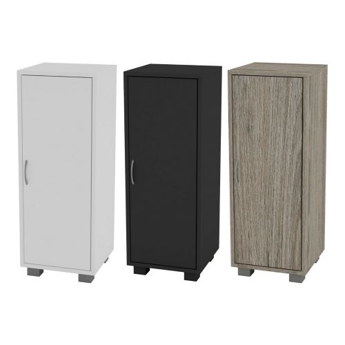 Wooden 1 Door Side Corner Wardrobe - 3 Colours