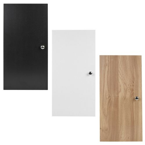 Replacement Cabinet Doors 2x Wooden - 3 Colours