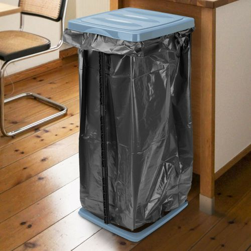 Disposal Stand Rubbish Bin Bag Holder 60L - 3 Colours