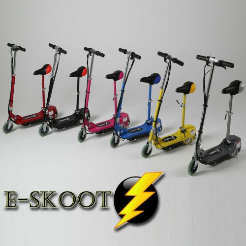Electric Scooter Kids Adjustable Seat - 6 Colours