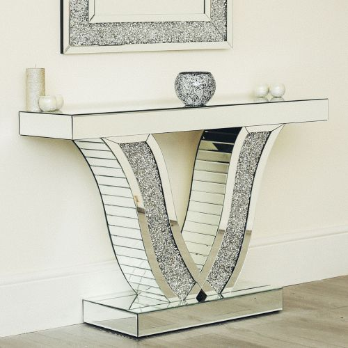 Mirrored Console Hallway Table Various Design