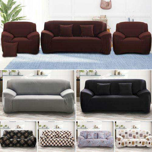 Elastic Stretch Sofa Covers - 7 Colours