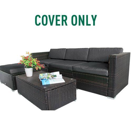Rattan Furniture Cushion Cover - Dark Grey