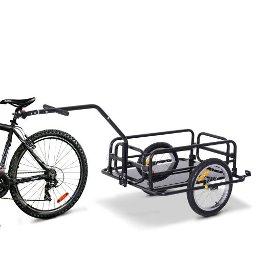 Folding Trailer Bicycle Storage Cart