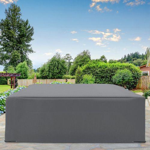 UV Resistant Waterproof Garden Furniture Cover - Grey