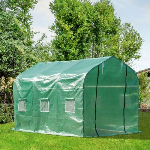 Gable Greenhouse Polytunnel - 3x2M