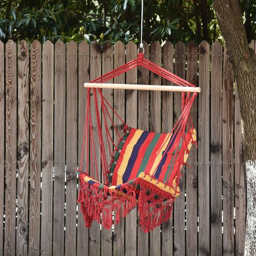 Modern Hanging Hammock Colourful Striped