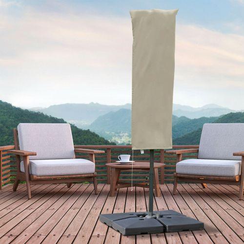 UV Protective Parasol Zipper Cover - Khaki