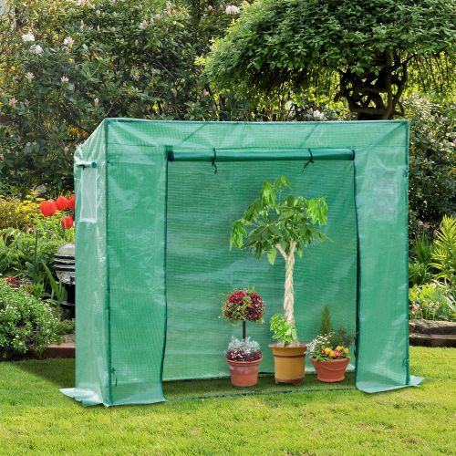 Poly tunnel Greenhouse With Zipper