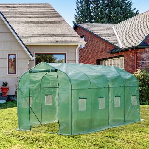 Supply Large Greenhouse Polytunnel - 4x2M