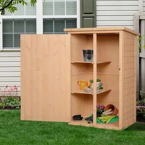Wooden Garden Storage Shed