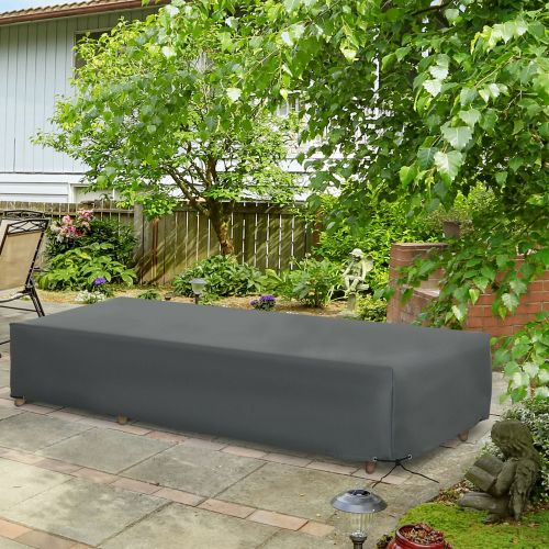 UV Water Resistant Garden Furniture Protective Cover - 200x73cm