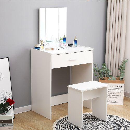 Elegant Stylish Dressing Table - White