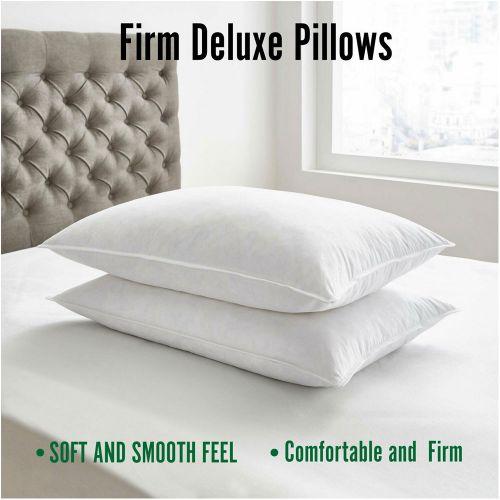 Deluxe Soft Firm Hollow Fiber Comfort Pillow