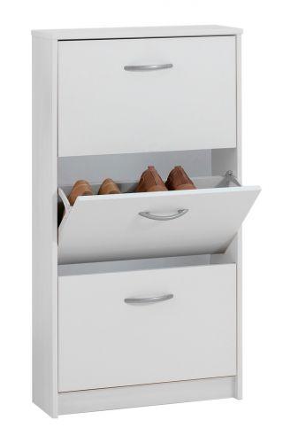 Step 3-Tier Shoe Storage Cabinet - 4 Colours