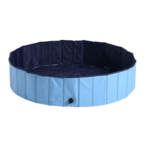 Pawhut Pet Swimming Pool - Blue