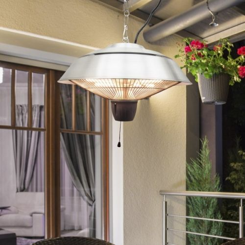 Outsunny Electric 1.5KW Hanging Halogen Patio Heater