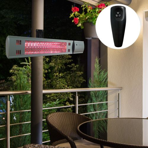 Outsunny 1500W Wall Mounted Infrared Halogen Patio Heater